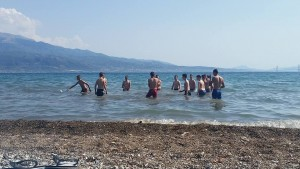 kupanje u Nafpaktosu